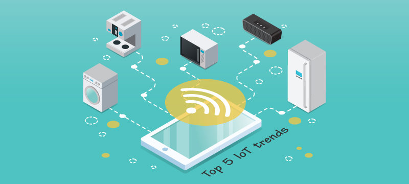 Top 5 IOT trends to watch out for in 2018
